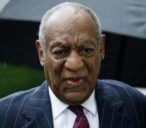 Bill Cosby arrives for his sentencing hearing at the Montgomery County Courthouse in Norristown Pa. Cosby's lawyers have filed Tuesday, Dec. 11, 2018, a list of more than 10 alleged trial errors as they try to undo his sexual assault conviction and three- to 10-year prison term. (AP Photo/Matt Rourke, File)