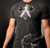 Black Helmet Apparel designs Unity and Fight Breast Cancer Tee