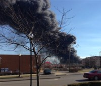 Ky. fire department battles largest blaze in 25 years