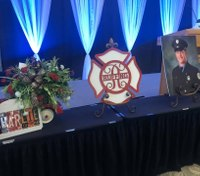 Community gathers for memorial to celebrate Boise firefighter