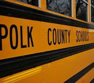 The school district is implementing a radio system that is connected to all emergency services in the county. (Photo/Polk County Schools)