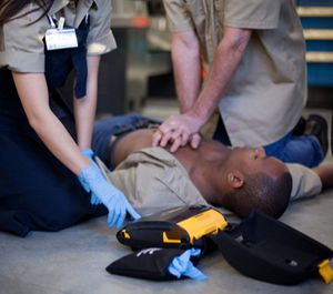 Using an AED can significantly increase their chances of survival. (image/Physio-Control)