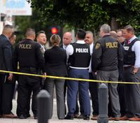 2 Calif. officers shot after confronting man with sword