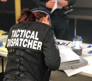 Field deployments of TERT-member tactical dispatchers to ICPs and the like range from less than 18 hours to several days. (Photo/CA TERT)