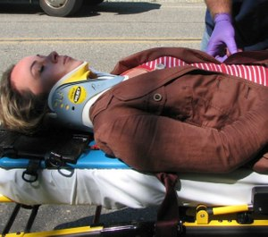 Proper patient positioning allows quality care and safe patient transport. (Photo/courtesy www.medicalbraces.org)
