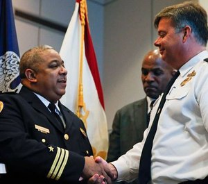 New Orleans Police Chief Michael Harrison, left (Photo/ New Orleans Police Department)