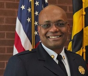 Chief Butler set and achieved a goal for increasing the diversity of his department. (Photo/www.howardcountymd.gov)