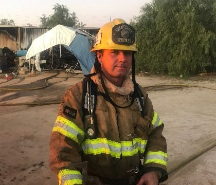 Quiet Warrior: How one off-duty firefighter switched from concertgoer to first responder during Las Vegas shooting