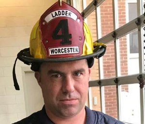 A suspect has been charged in the death of Worcester Firefighter Christopher Roy. (Photo/WFD)