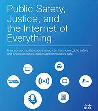 How the Internet of Everything in Public Safety and Justice improves police data