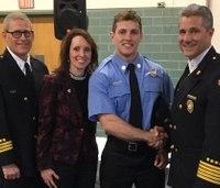 Firefighter issued same badge number as father who died in line of duty