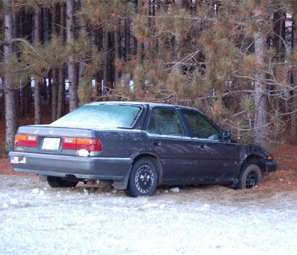 Cold and injured: Motor vehicle accidents in the winter