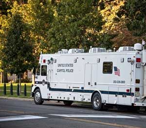 Of all the hardware a public safety agency can bring to an incident, a mobile command vehicle (MCV) is arguably the most impressive. (AP Image)