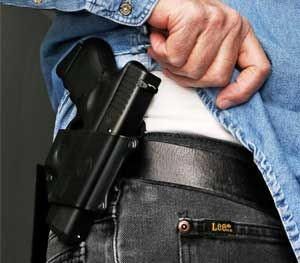 Just as you are unlikely to marry the first man or woman you date, you may have to experiment with a few holsters before finding one that's right for you. (AP Image)