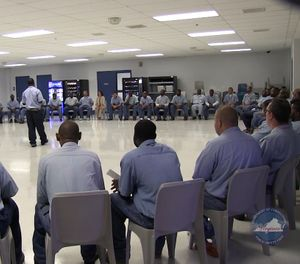 This innovative reentry program places 40 to 90 offenders together in a structured and supportive communal environment. (Photo/VADOC)