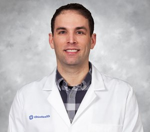 "Eric Cortez, M.D., clinical assistant professor of Emergency Medicine at Ohio Health Doctors Hospital presented a session entitled, ""A Prehospital Approach to Refractory Ventricular Fibrillation,"" at EMS Today.  (Photo/Courtesy of Eric Cortez)"