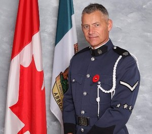 Pictured is Constable John Davidson, who was shot and killed in the line of duty on November 6, 2017. (Photo/Abbotsford Police Department)