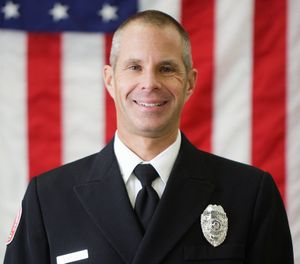Lt. Scott Bridges was stuck by a vehicle when he left his car to assist the drivers of a two-car accident that eventually became a six-car pileup. (Photo/Vail Fire & Emergency Services)