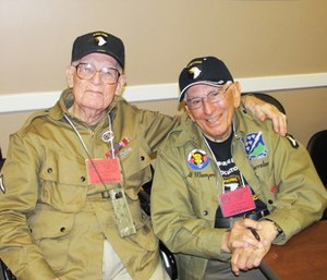 Private First Class Edwin Pepping and Staff Sgt. Albert Mampre (Photo/Military Health System)