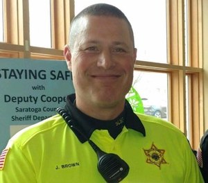 Pictured is Deputy Sheriff John Brown. (Photo/Saratoga County Sheriff's Office)