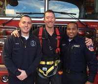FDNY firefighter returns to work after almost losing arm