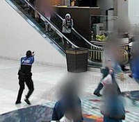 Police: Suspect shot after pointing fake gun at cop in Texas mall