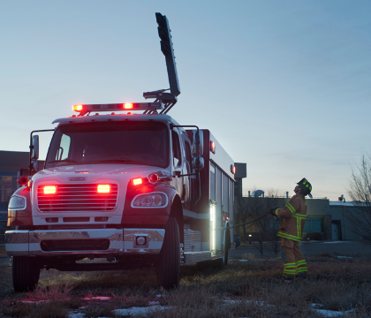 Q&A: Don't leave your fire rescue squad in the dark – here's how light towers can help your crew step into safety
