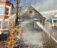 Mayday called when flashover sends flames over firefighters