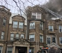 Chicago fire capt. in serious condition after being overcome by smoke