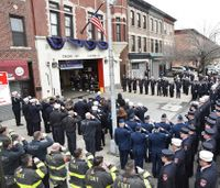 FDNY firefighters killed in Iraq copter crash honored at memorial