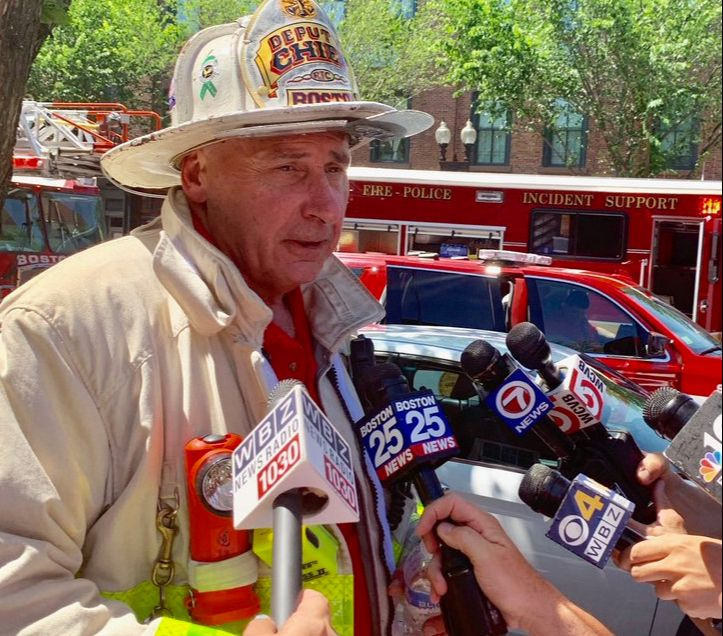 11 Boston FFs hospitalized after Level 3 Hazmat response