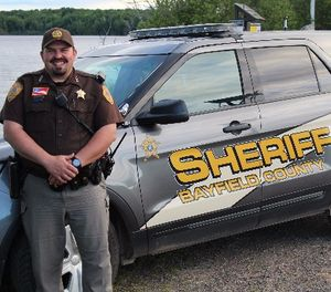 Pictured is Bayfield County Sheriff's Department Deputy David Dawson. (Photo/Bayfield County Sheriff's Department)