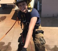 Fire academy life for a young woman looking toward a career as a firefighter/paramedic