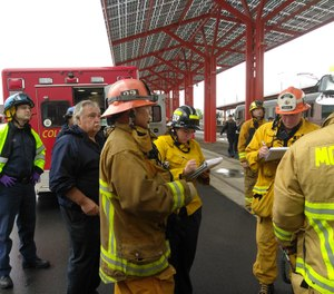 Selecting the right facilitator for an after-incident debrief is critical to its overall success. (Courtesy/ www.fire.lacounty.gov/)
