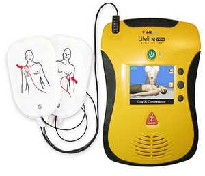 AED defibrillator (Photo/Wikimedia Commons)