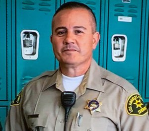 Fallen Deputy Joseph Gilbert Solano  (AP Photo/Los Angeles County Sheriff's Department)