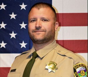 Deputy Ryan Thompson (Photo/ Kittitas County Sheriff's Office)