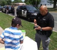 Officers help out 9-year-old's lemonade stand after his money was stolen