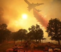 Calif. wildfires now largest in state history