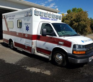 Gooding County is pushing to make changes to its ambulance service — converting to a paramedic level within the next couple of months and looking for land to build a new station. (Photo/Gooding County)