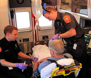 Identifying our strengths, as well as our weaknesses, in terms of STEMI recognition and hospital notification are all results of data management. (Photo/Town of Westford, Mass.)