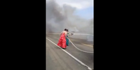 Why fighting fire in dresses is bad form