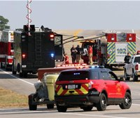 Series of explosions rocks Texas chemical supplier