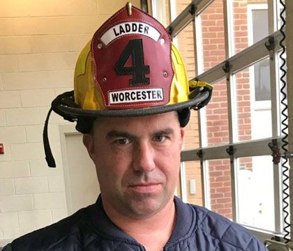 Paramedic writes poem about Mass. firefighter who died in blaze