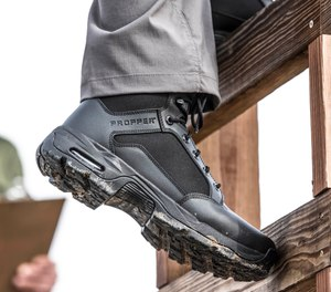 The new Duralight Tactical Boot from Propper provides comfort, traction and solid support in critical areas. The boot available in sizes 5 to 17, including half sizes and wide widths. (image/Propper)