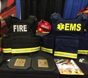 Body armor is available for fire and EMS personnel who may come under attack when conducting welfare checks and other scene responses. (Photo/Greg Friese)