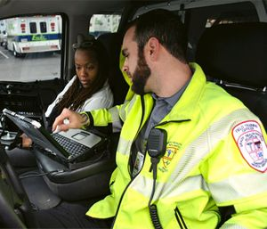 Grady EMS Upstream Crisis Intervention Group focuses on care and transport of patients with a psychiatric complaint (Photo courtesy Grady EMS)