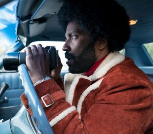 """""""BlacKkKlansman"""" is a 2018 American biographical crime film inspired by a book written by former police officer Ron Stallworth. (Focus Features)"""
