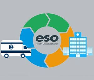 Miramar Fire-Rescue uses ESO's Electronic Health Record package for patient care reporting, including the Health Data Exchange, which allows EHR to swap bits and bytes and share patient information with hospitals. (image/ESO Solutions)
