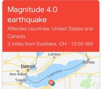 Hundreds of calls flood Ohio 911 call centers after earthquake